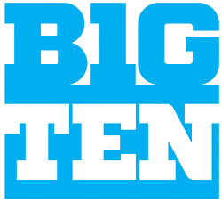 the BigTen stacked logo, announced 13 December 2010